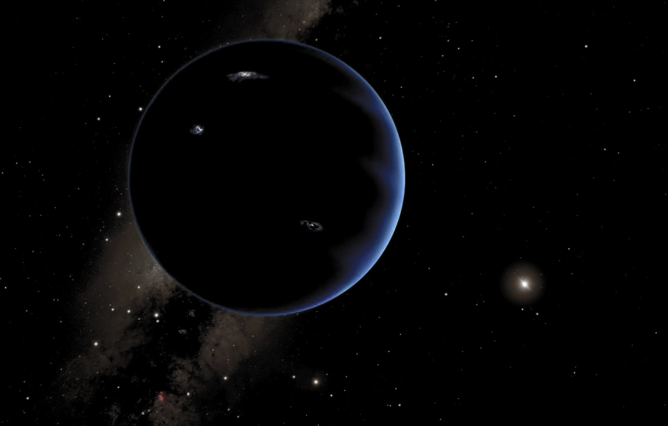 planet with four moons - photo #32