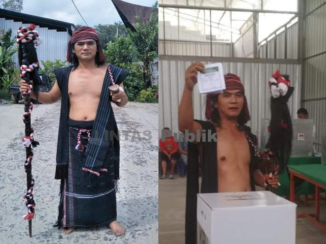 Arti Pakaian Raja Batak Menurut Guru Spiritual Danau Toba