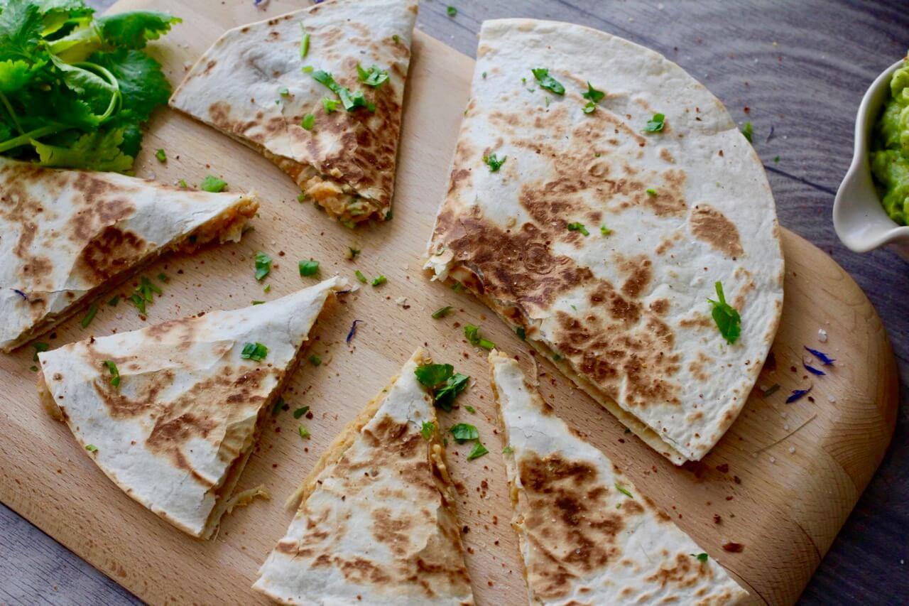 Süßkartoffel Tortillas