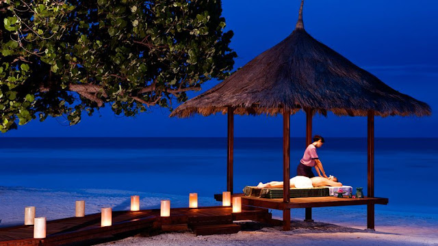 Plan a massage at the spa for couples