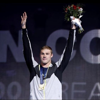first-time Olympian, swimmer Kevin Cordes
