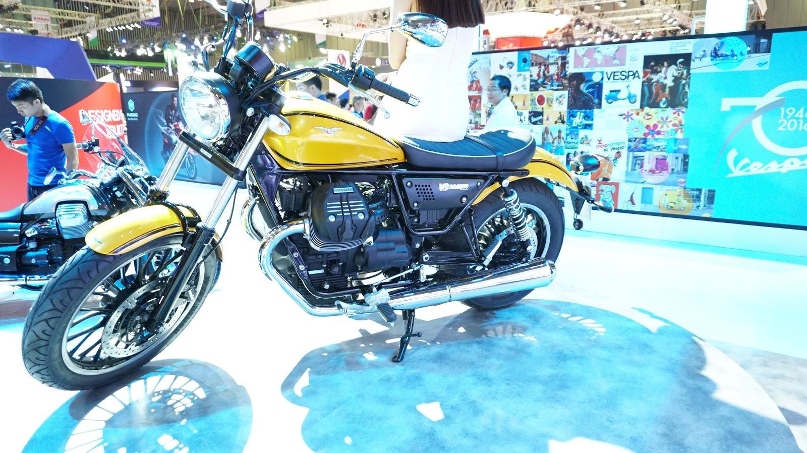 Moto Guzzi V9 Roamer phải nói là một trong xế cổ điển đẹp nhất VMS lần này