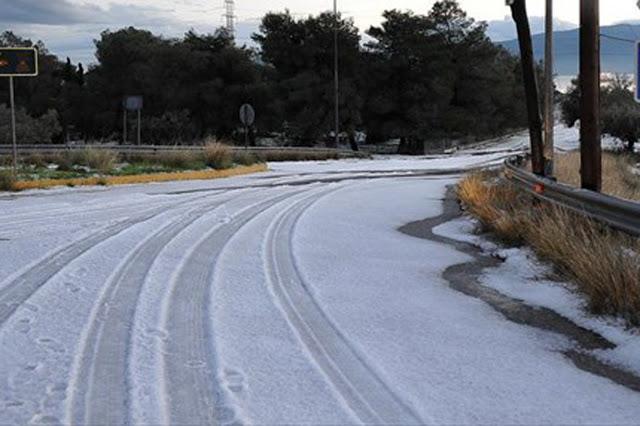 ΕΚΤΑΚΤΟ: Απίστευτη χαλαζόπτωση στο Άργος