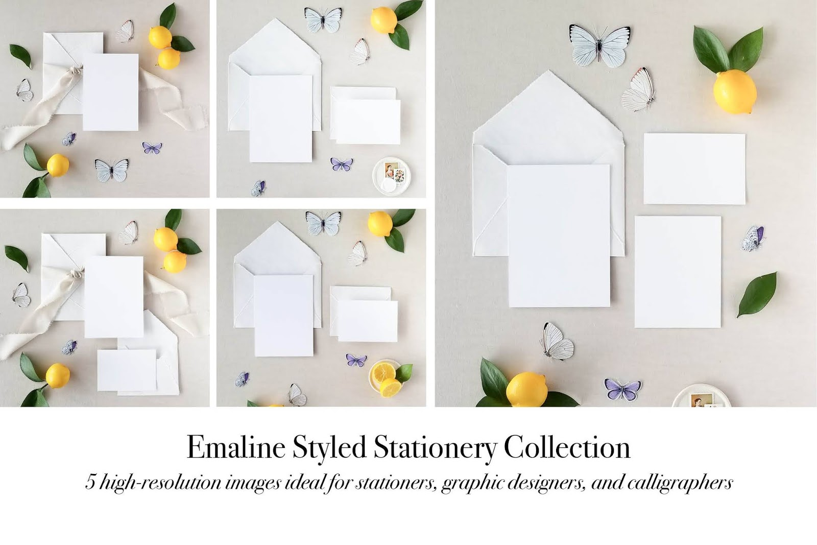 Styled Stationery Suite Mockup Bundle