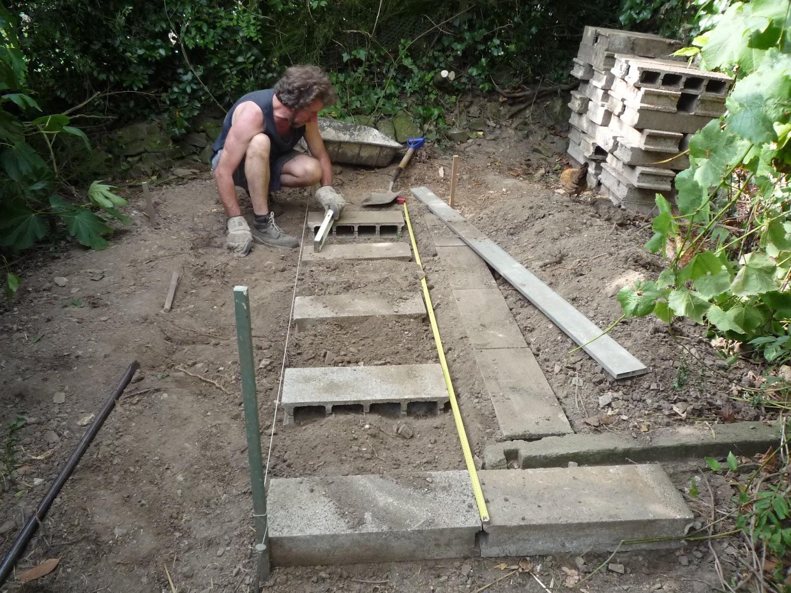 Diy foundations house