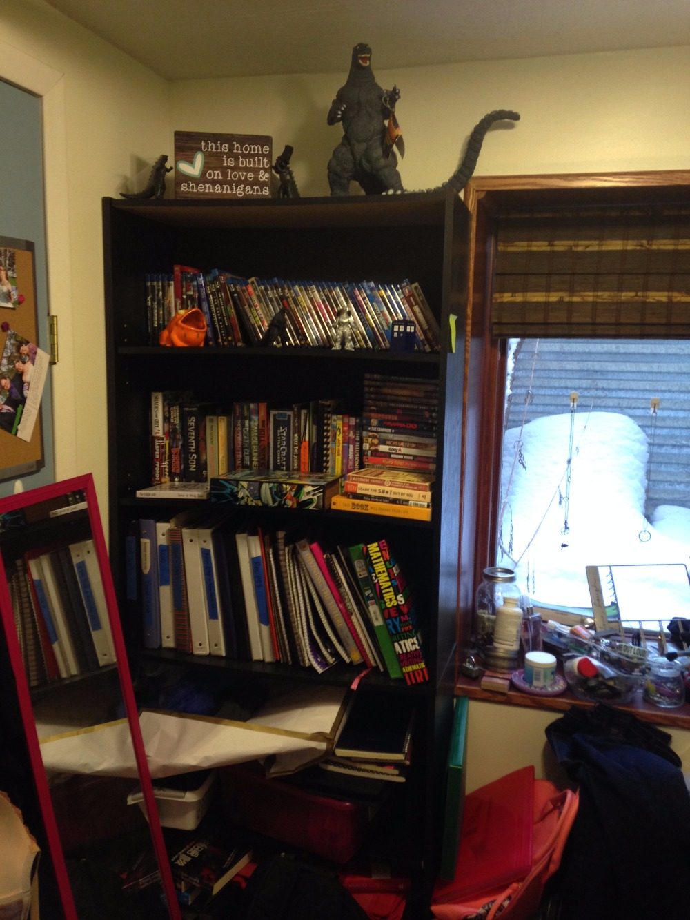 How Are You Getting Organized this Year? Bookshelf Organization