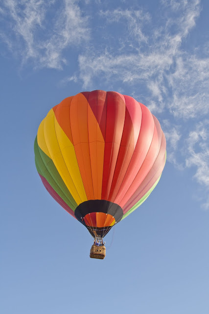 hot air balloon ride in Napa