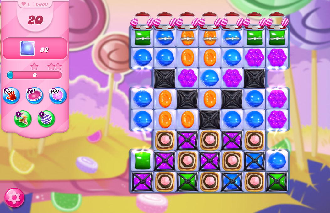 Candy Crush Saga level 6382