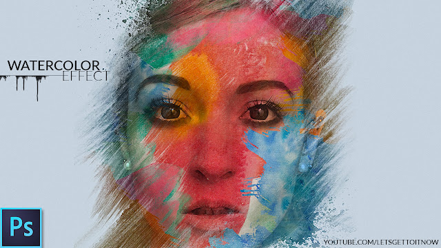 Create an Amazing Watercolor Effect in Photoshop