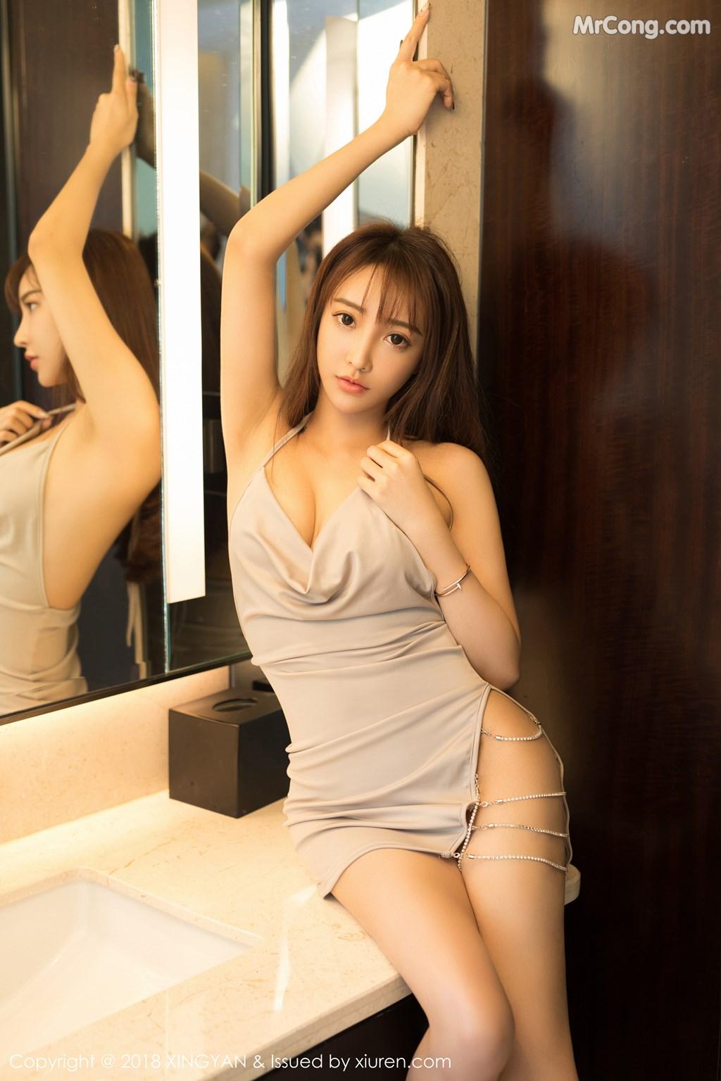 Image XingYan-Vol.090-Angel-MrCong.com-003 in post XingYan Vol.090: Người mẫu 安安Angel (41 ảnh)