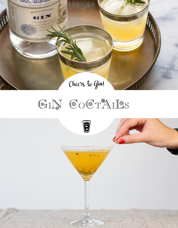 Cheers to Gin! 3 Rezepte für Gin-Cocktails