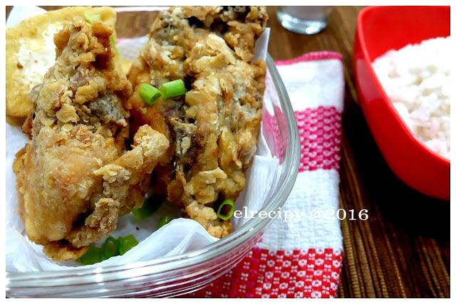 ayam goreng oatmeal