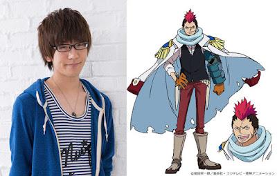 Natsuki Hanae como Grant, con un gran sentido de la justicia.