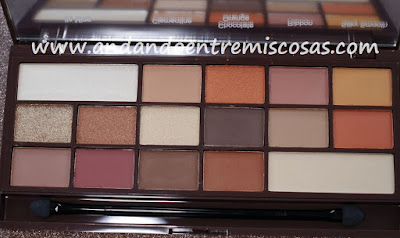 Chocolate Orange de I Heart Makeup