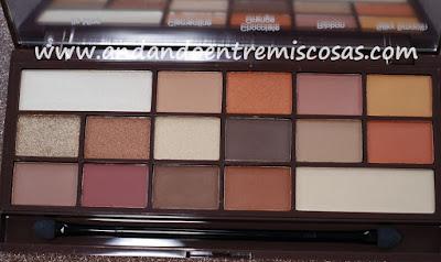 Chocolate Orange de I Heart Makeup