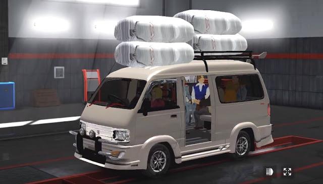 Mod Mobil Angkot dan Pickup Suzuki Carry ETS2 By Rindary