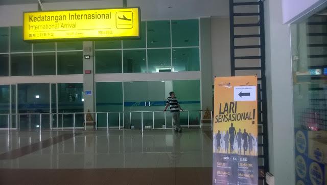 Area Kedatangan Internasional Bandara Adi Soemarmo