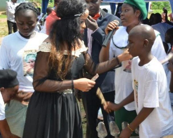 queen badirat adeyemi disabled kids