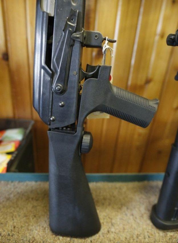 Trump pushes for ban on gun 'bump stocks'