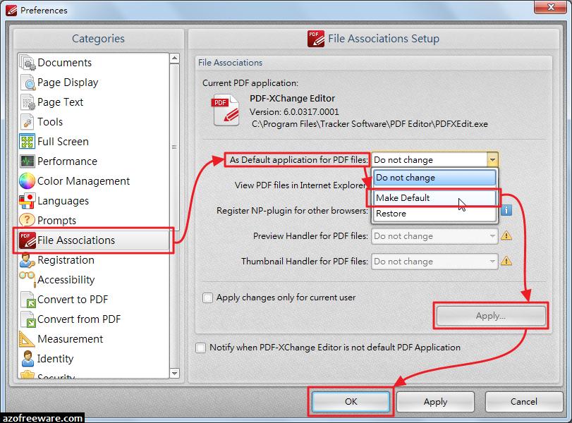PDF-XChange Editor 設定為PDF預設開啟工具 - v6.0.317.1 - 阿榮技術學院