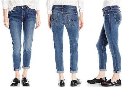 7 For All Mankind Josefina Skinny Boyfriend Jeans $72 (reg $189)