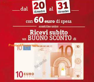 Logo Buono sconto da 10 euro e risparmi sulla prossima spesa