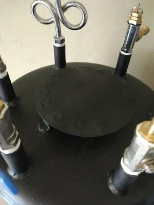 Setrika Uap Boiler Nagamoto Non-Casing, 25 Liter, 2 Kepala Setrika