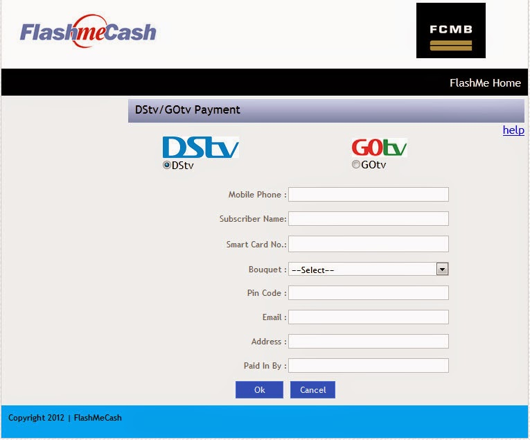 How to Pay for Dstv/Gotv Subscription Using Flashme Cash Recharge Card