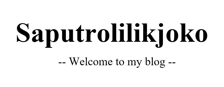 Blog Saputrolilikjoko