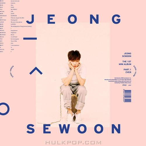 JEONG SEWOON – THE 1ST MINI ALBUM PART.1 `EVER` (AAC)
