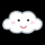 天気のマーク「曇り」
