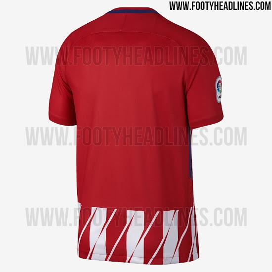 Atleti camiseta 17 18
