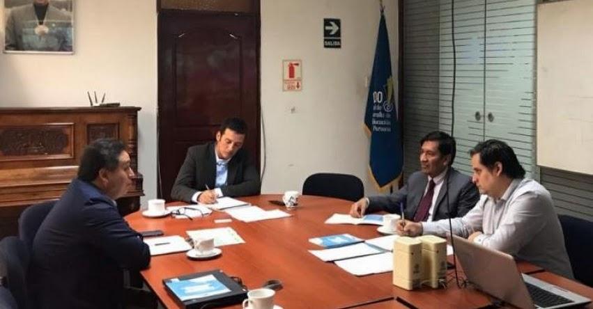 FONDEP y Antamina coordinan acciones para impulso de innovación educativa en San Marcos - www.fondep.gob.pe