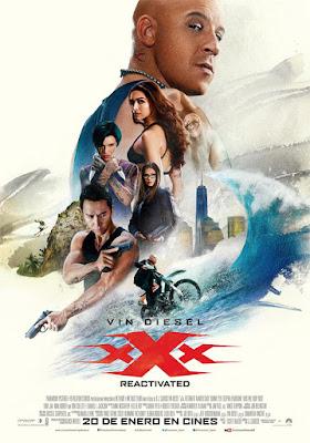 Póster en español de xXx Reactivated