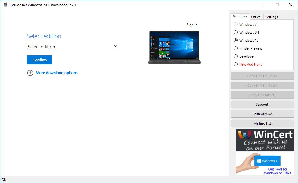 Tool Mendownload Produk Microsoft