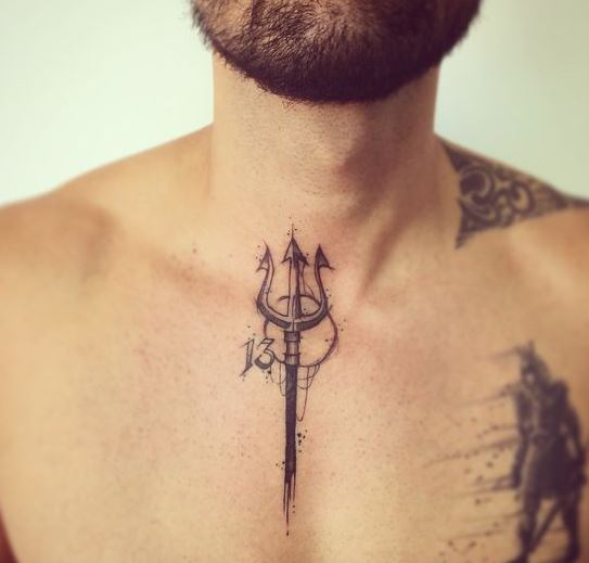 50 Small Chest Tattoos For Guys: 170+ Best Tattoos For Men With Meaning (2019)