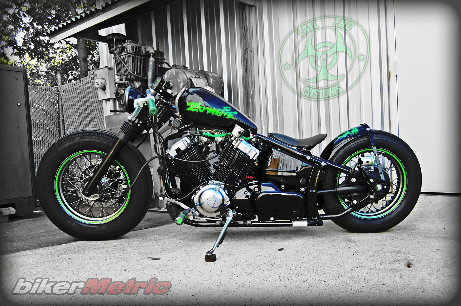 Images of Custom Parts Yamaha V Star 650