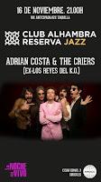 Concierto de The Criers y Adrián Costa en Siroco