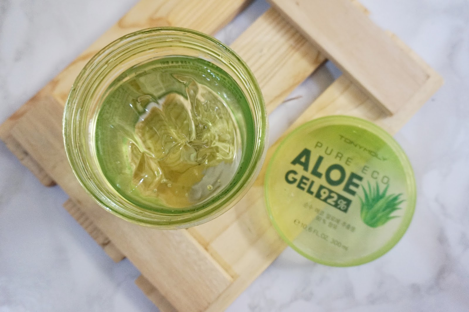 tony moly pure eco aloe gel review