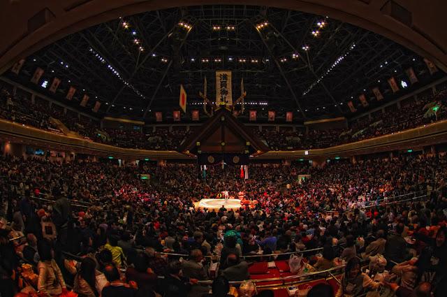 2018 May Grand Sumo Tournament, at Ryogoku Kokugikan, Tokyo