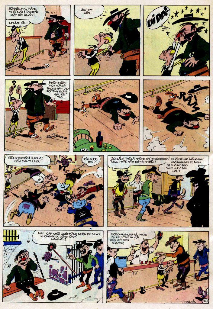 Lucky Luke tập 25 - nhện chân dài trang 40