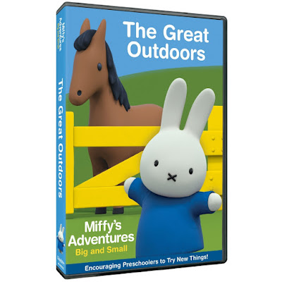 Miffy's Adventures The Great Outdoors DVD