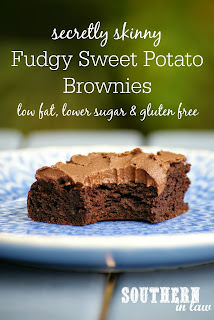 Healthy Fudgy Sweet Potato Brownies Recipe