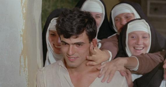 hortelano mudo en convento de monjas