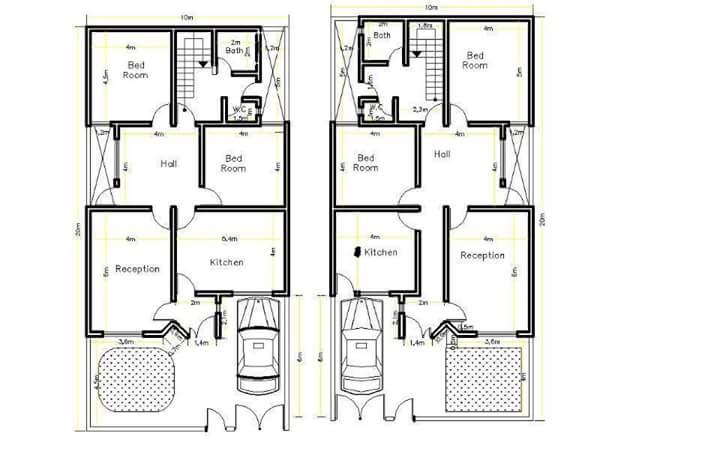 Contoh Denah dan Desain Rumah Minimalis Modern Berbagai Tipe dan Luas Tanah 30+ Contoh Denah dan Desain Rumah Minimalis Modern Berbagai Tipe