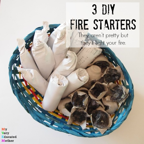 These 3 DIY Fire Starters are sure to light your fire!