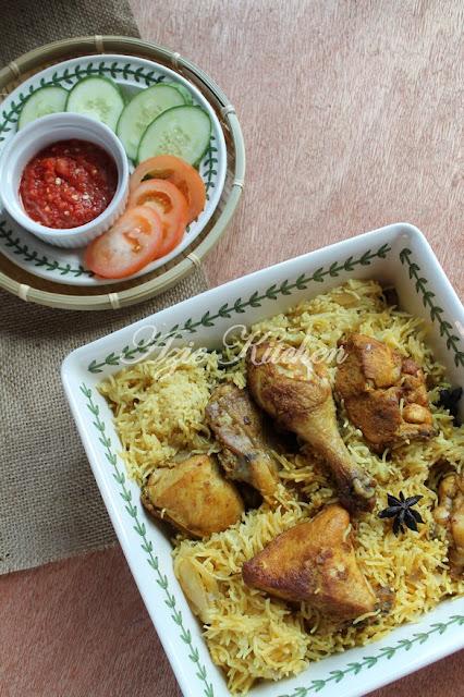 Southern Yellow Chicken Rice  Southern Yellow Chicken Rice aka Nasi Ayam Goreng Sedap