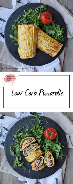 Low Carb Pizzarolle | Rezept | Essen | Kochen | Weight Watchers