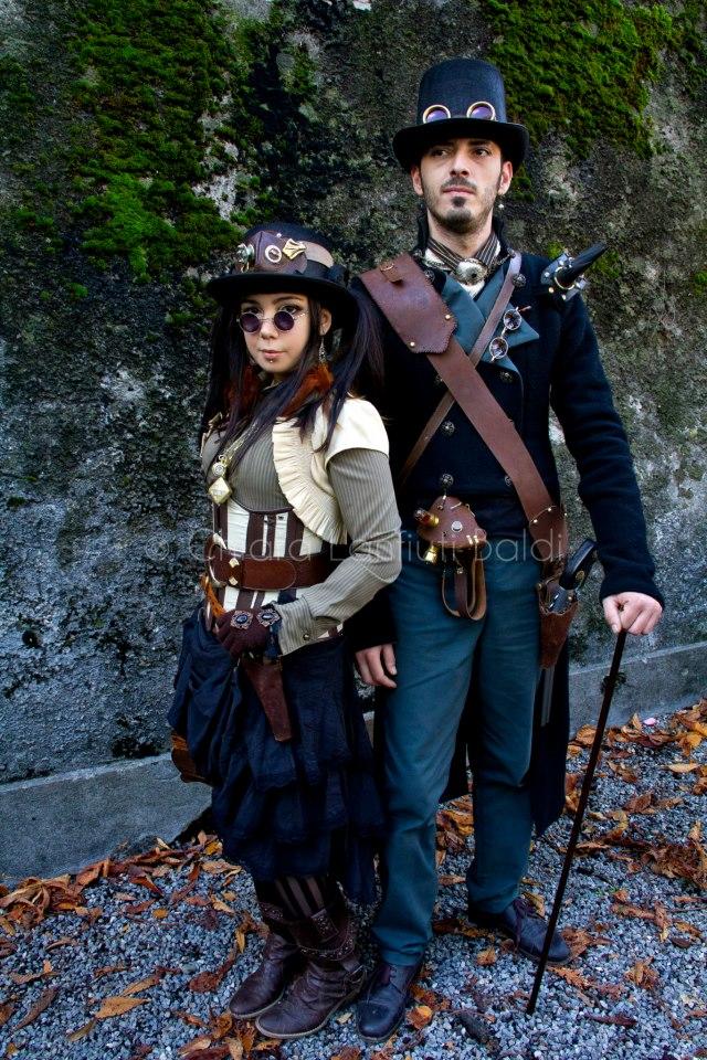 steampunk fashion guide stylish steampunk couple. Black Bedroom Furniture Sets. Home Design Ideas