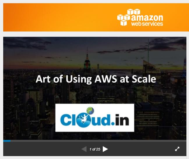 AWS Slideshare Powerpoint